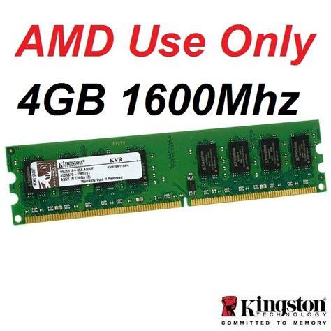 Ram 4gb Ddr3 Amd 4gb kingston ddr3 1600mhz desktop pc end 6 22 2018 5 15 pm