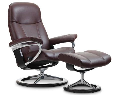 how much is a stressless recliner consul recliner signature base traditions at home