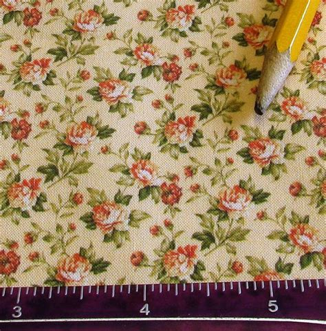 victorian upholstery fabric dollhouse miniature victorian upholstery fabric peach rose