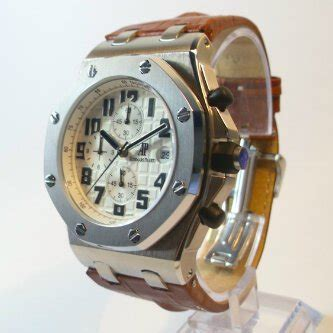 Jam Tangan Cowo ap royal oak brown
