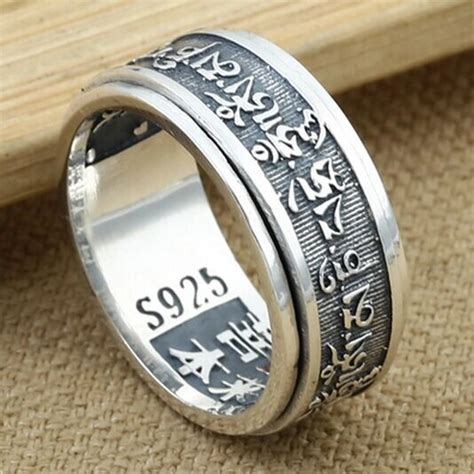 925 sterling silver ring for vintage thai silver ring