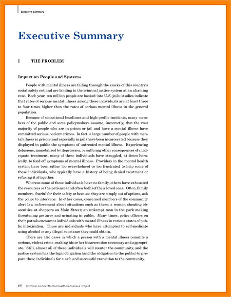 executive summary templates exles of executive summary 65 images 25 best