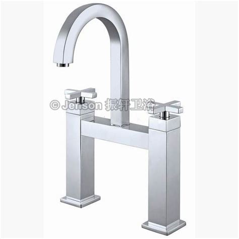 square kitchen faucet 5039 two handle square kitchen faucet china kitchen