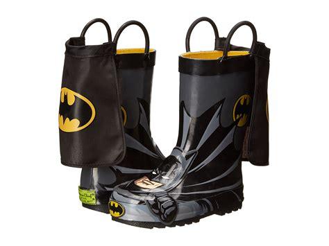 batman rainboots s block make a splash in western