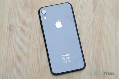 test labo de l iphone xr la bonne affaire