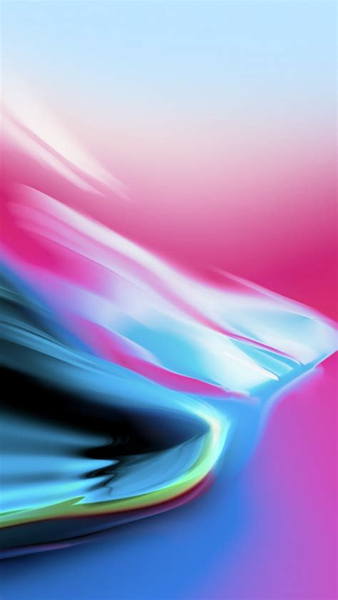 wallpaper colorful silver ios  iphone  iphone