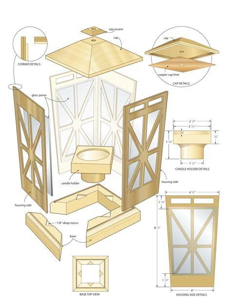 Wood Lantern Plans