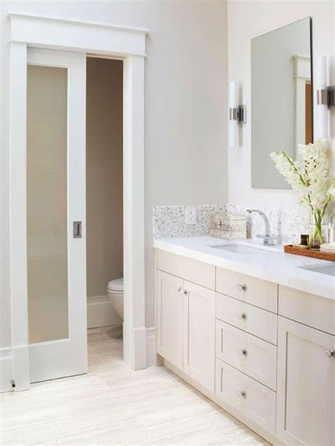 master bathroom design ideas towel storage pocket doors  door opener