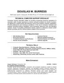 Targeted Resume Exle by Doug Burress Updated Targeted Resume Templatev3
