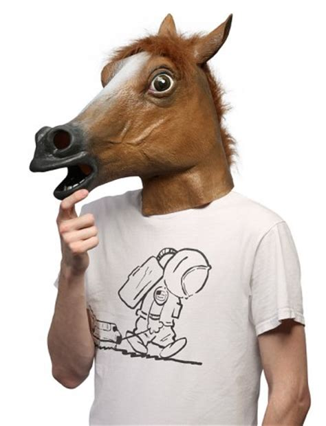 Meme Horse Head - the horse head mask myconfinedspace