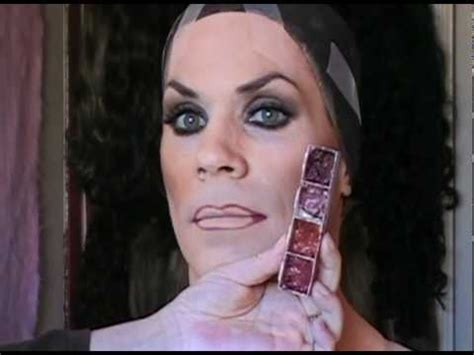 Cross Dresser Makeup by 03 Make Up Demo For Cross Dressers Part 3 Of 3 With Dom