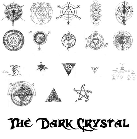 dark crystal tattoo 146 best images about the on