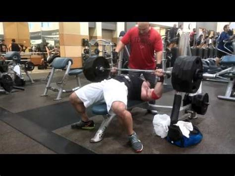 bench press 500 pounds 500 lb bench press doovi