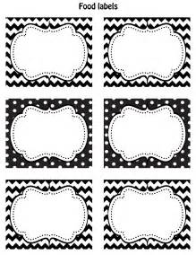 free label templates happy friday free printable food labels