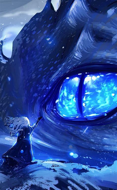 anime dragon eye full hd wallpaper