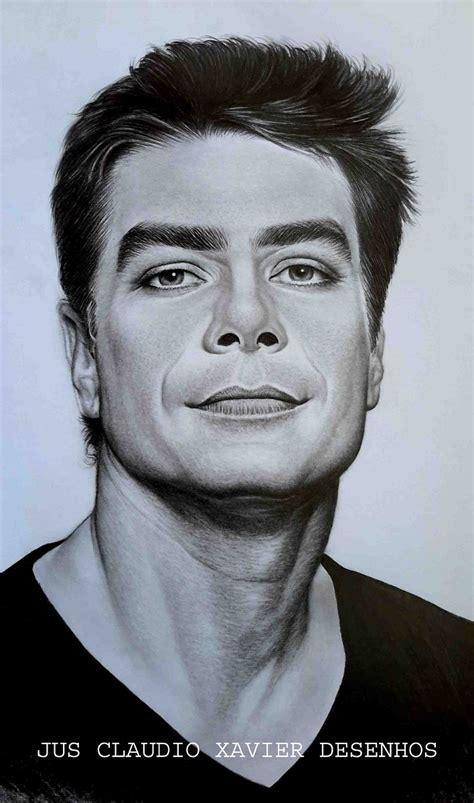 desenho de pessoas desenho realistas em preto e branco tamanho a3 p pessoa