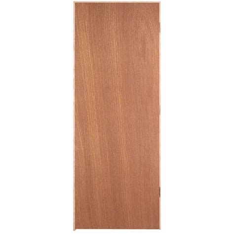 Masonite Smooth Flush Hardwood Hollow Core Unfinished | masonite 24 in x 80 in smooth flush hardwood hollow core
