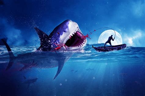 underwater tutorial photoshop cs5 amazing surreal shark photoshop tutorial you have to try