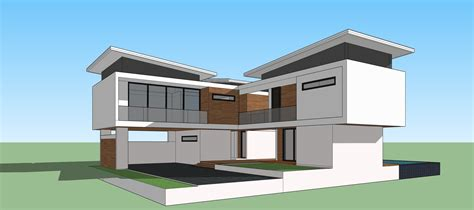 how to design a house in sketchup sketchup pro 2015 create modern house youtube