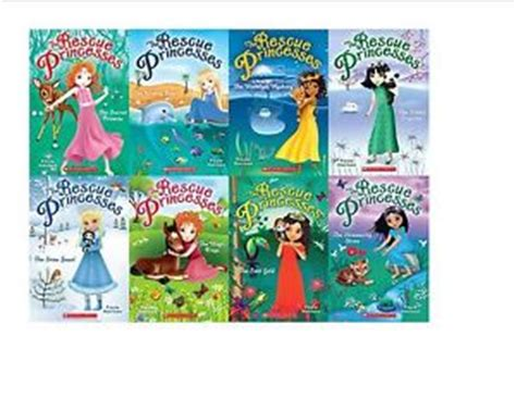 the princess series 1 the rescue princess series 1 8 book collection by paula