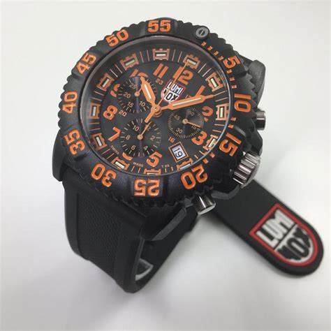 Swiss Army 3080 luminox navy seal colormark chronograph diver s a