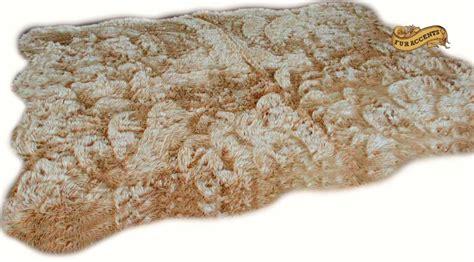 Fur Rugs Ebay by Fur Accents Random Shape Shaggy Sheepskin Area Rug