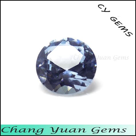 light blue color synthetic spinel gemstone buy spinel