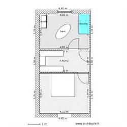 salle de bain dressing chambre plan 3 pi 232 ces 35 m2