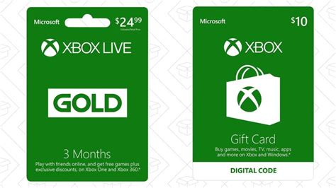 Where To Get Xbox Live Gift Cards - free xbox live gift cards 1 month lamoureph blog