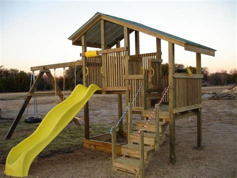 diy backyard swing set seemly backyard playset building plans adventures assembly