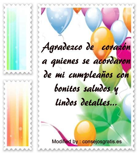 imagenes para agradecer x mi cumpleaños 187 top mensajes para agradecer saludos por mi cumplea 241 os