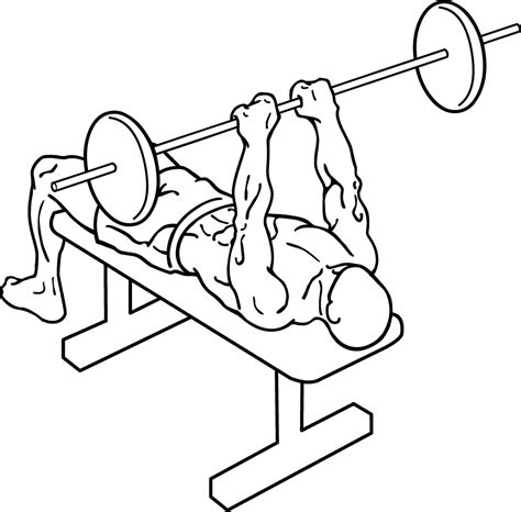 narrow grip bench presses muscle moose performance aesthetics confidence