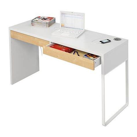 not enough micke desk white birch effect ikea