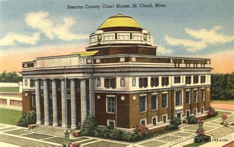 Stearns County Court Records Stearns County Court House St Cloud Mn