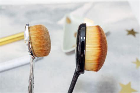 The Brush the artis oval 4 brush vs an ebay dupe thou shalt not covet