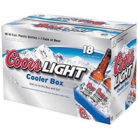 16 oz coors light coors light 16 fl oz 18 pack walmart com