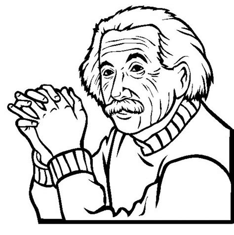 Einstein Coloring Pages albert einstein coloring pages az coloring pages