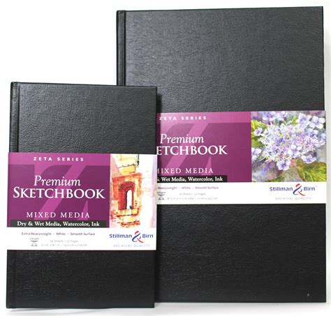 sketchbook size stillman birn premium sketchbook mixed media