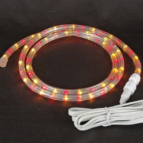 custom red yellow rope light kit 120v 1 2 quot novelty lights