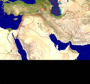 satellite map of middle east primap national maps