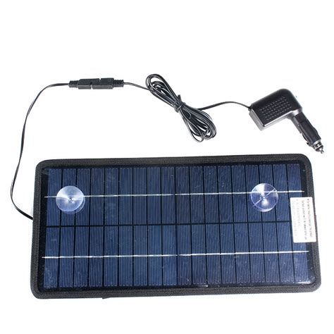 solar marine battery charger solar powered car auto boat mower marine trickle charger
