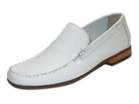 mens white dress shoes casual slip on boots with
