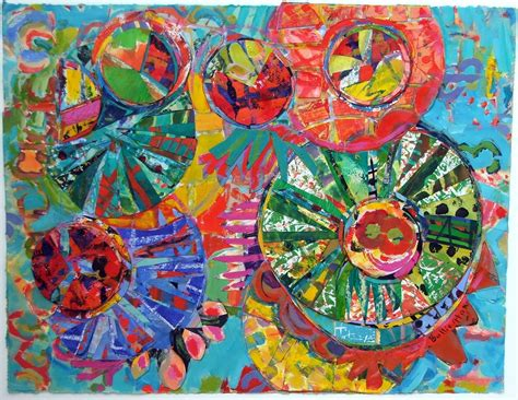 thesis on abstract art paper collages painting inspiration color art ideas