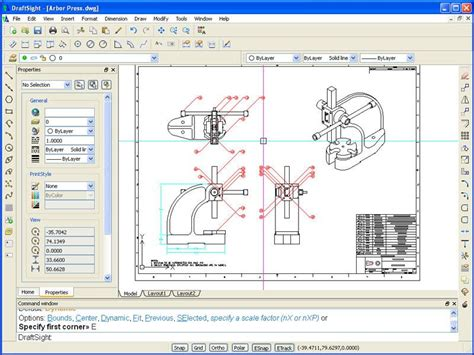 blue print software free draftsight free 2d dwg editor solid solutions