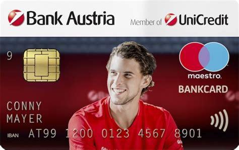easy bank austria bank austria startet mit konto plus kreditkarte mit