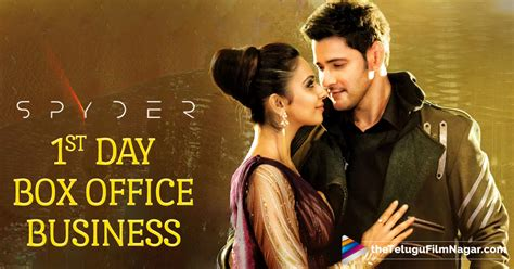 one day film box office spyder 1st day box office rs 51 crore gross mahesh