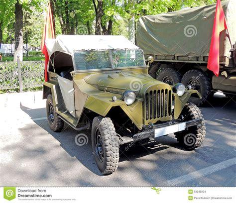 korean jeep soviet jeep gaz 67 editorial stock image image of
