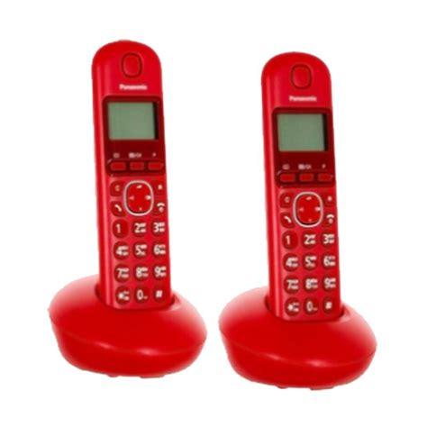 Telpon Panasonic Kx T7703 jual panasonic kx tgb212 telepon wireless harga kualitas terjamin blibli