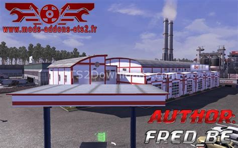 custom large garage ets 2 mods ets2downloads free download ets2 mods h essers garage large