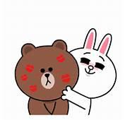 熊大&兔兔(最喜歡你了☆滿滿愛心篇)  官方貼圖